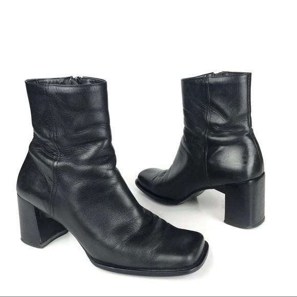 868f73c6893101 Enzo Angiolini Shoes - Enzo Angiolini Ankle Boots Leather Square Toe